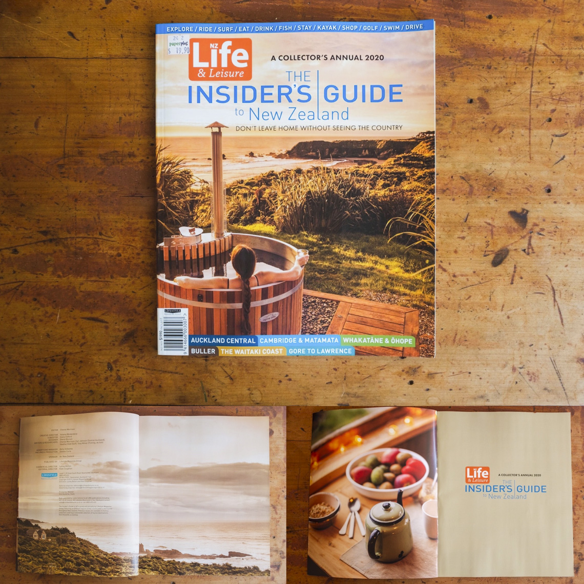 NZ Life and Leisure Front Cover -2020 Insider
